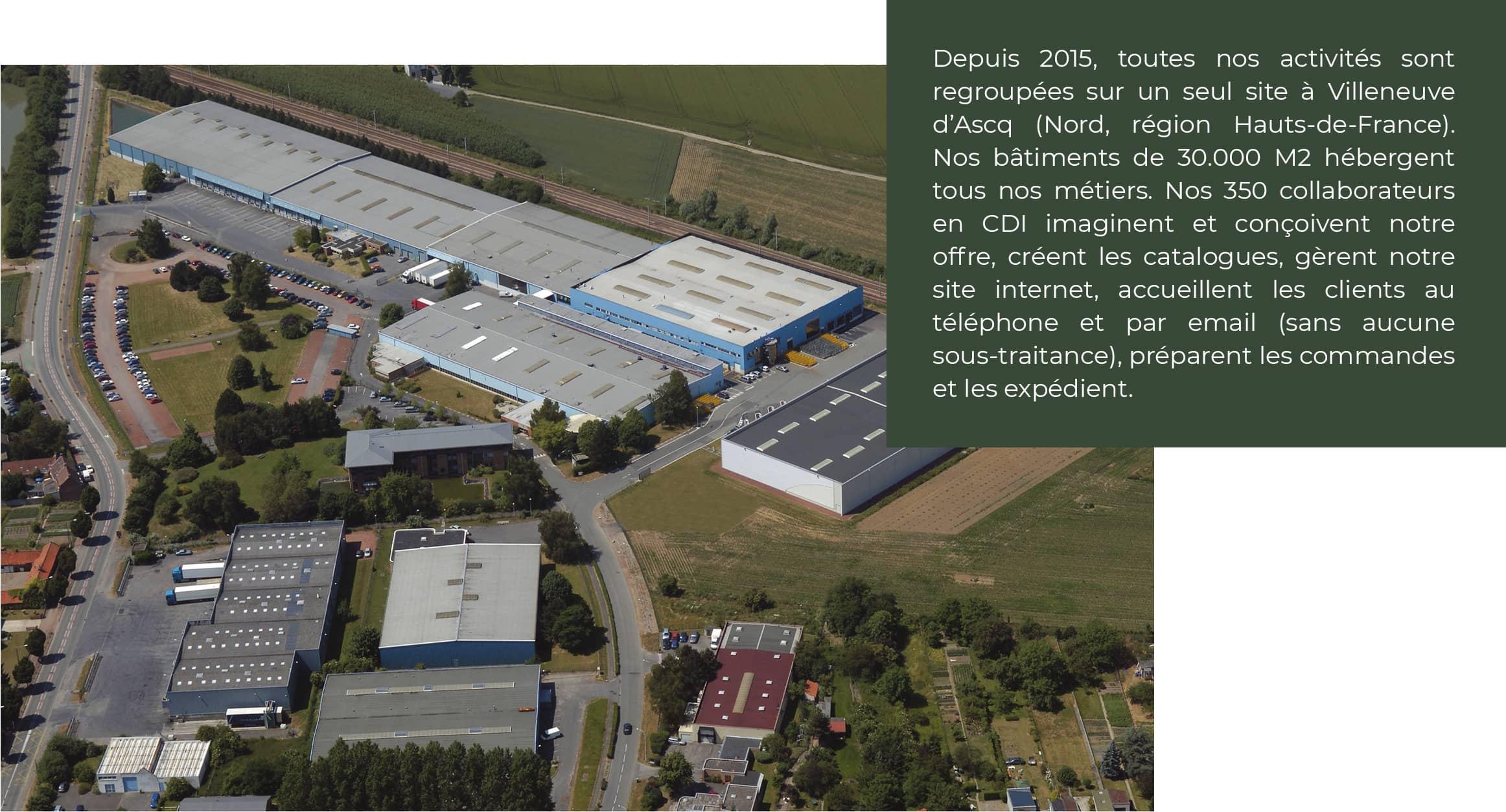 Une entreprise 100% Hauts-de-France