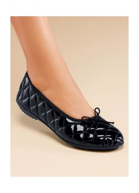 Ballerina flats with quilted effect - AFIBEL