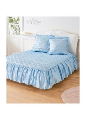 Quilted satin bedspread - AFIBEL
