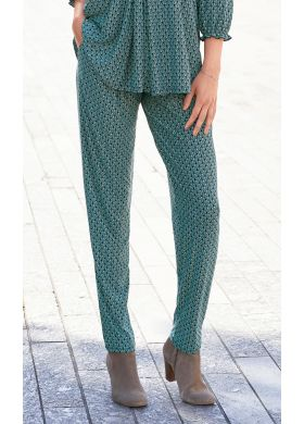 Trousers in a stretch fabric - AFIBEL