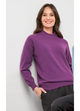 Jumper with high neckline - AFIBEL