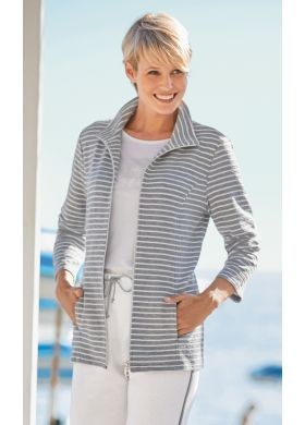 Leisure jacket with high neckline - AFIBEL