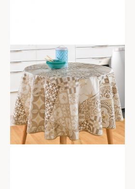 Print waxed tablecloth - AFIBEL